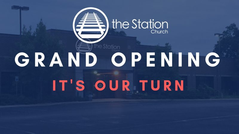 Grand Opening - Its Our Turn!